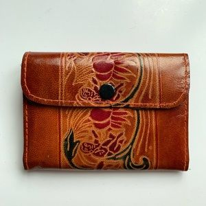 New Compact Printed Leather Wallet from India